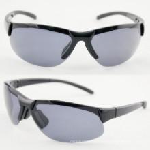 Men Fashion Semi-Frame Sport Sunglasses with FDA (91204)