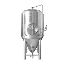 1000L Industrial Stainless Steel Beer wine fermentation Tank with cooling jacket