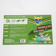 2015 New Product Green Leaf Strongly Adhesive Mouse&Rat Glue Traps