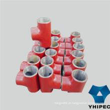 T dos encaixes de tubulação de ASTM A234 Wpb P12 P22 P91
