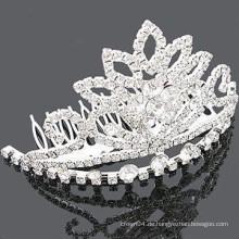 Großhandel Haarzusätze Kristalle Krone Haarkamm