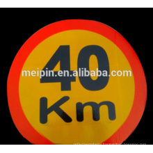 Promotional Emergency Warning Reflective House Number Signs