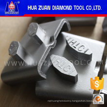 2 Segments Metal Bond Diamond Block for Concrete Grinding Tools