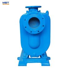 Pompe à eaux usées auto-amorçante à moteur électrique de 6 pouces