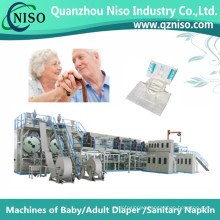 Reliable Full-Servo Adult Inco Pad Machine Factory with CE (CNK300-SV)