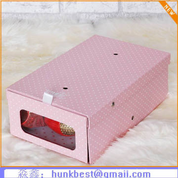 Customized Logo Print Corrugated Shoe Packaging Box