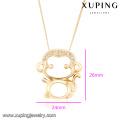 43064-Xuping joyería de moda collar de oro con tienda en línea china 43064 Xuping joyería de moda collar de oro con tienda en línea china