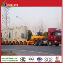 Hydraulic Lowbed Heavy Duty Haul Truck Semi Trailer Modular