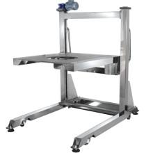 Elevador móvil de alta calidad para pesador multicabezal y dispositivo de llenado