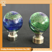 8/10/13/16/19/22/25/28mm Crystal Glass Decorative Curtain Rod Accessories