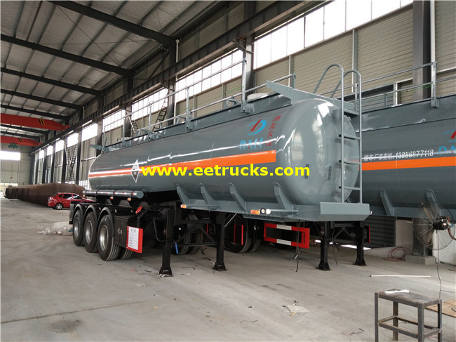 18 CBM Sulfuric Acid Trailer Tanks