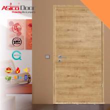 Solid Wooden Fire Rated Bathroom Door Design With BS Standard