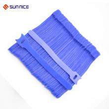 Ampliamente utilizado, flexible y ajustable, gancho y lazo de color lazos
