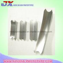 Pièce en aluminium adaptée aux besoins du client de pièce en acier de partie de usinage de commande numérique par ordinateur de précision