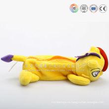 Estuche de lápices de peluche de juguete hecho a mano de China