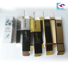 emballage naturel pur de bâton de lèvre pour des produits de beauté
