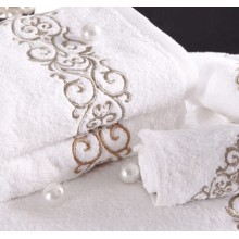 Canasin Embroidery Towels Luxury 100% cotton