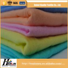 100% хлопок окрашенные / сплошной цвет двойной матовой фланелевой ткани C20S * C10S / 40 * 42 * 44 '' завод