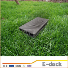 Environmental freindly anti framing sanding surface WPC hollow decking floor