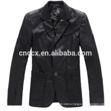 15PKPU04 fall winter fashion slim fit men pu jacket