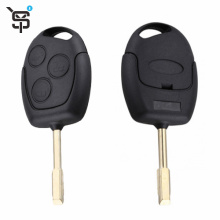 Top quality black car remote key 3 button car remote key for Ford with 315 MHZ YS100140