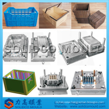 plastic crates mold dog crates injection mould poultry transport crate mould