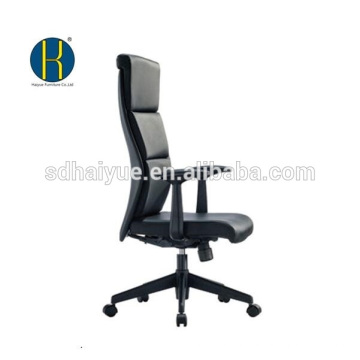 high back fashion real cow leather office chair