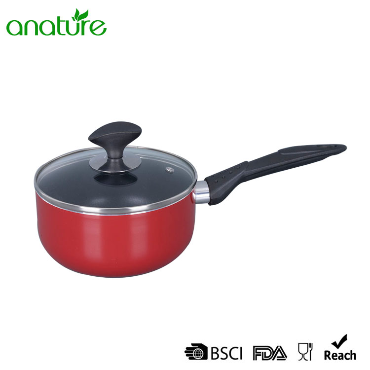 Pressed Non Stick Bakelite Handle Cookware Set