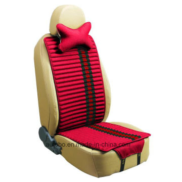 Leinen und samt Autositz decken doppelte Seiten Verwendung-rot