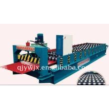 China Hebei glasierte Fliese Roll Formmaschine