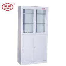 Sliding door metal filing cabinet storage locker