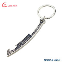 Chinese Sword Shape Bottle Opener with Keychain