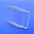Transparent solid polycarbonate building ceiling panel