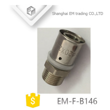 EM-F-B146 Raccord fileté mâle diamètre égal passage pex al pex joint