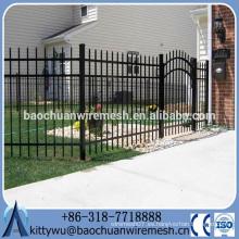 Valla de acero / valla de hierro forjado con nuevo diseño y la mejor calidad