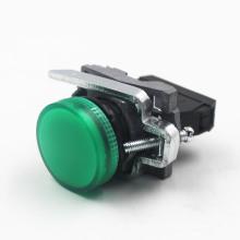 Pulsador eléctrico de la serie Lay4-BV con luz indicadora LED