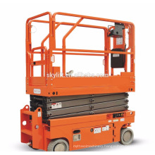 self propelled scissor lifter/hydraulic lifting table/skylift