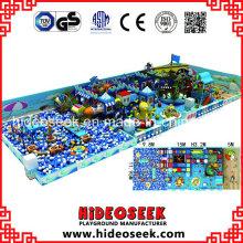 Piratenthema-Innenspielplatz mit Body Building-Struktur