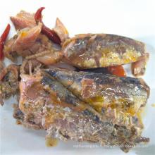 Sardine en conserve à la tomate et au chili