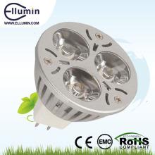 mini base conduzida impermeável da luz 3w mr16