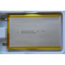 3.7V 4000mAh wiederaufladbare Li-Polymer-Batterie 606090