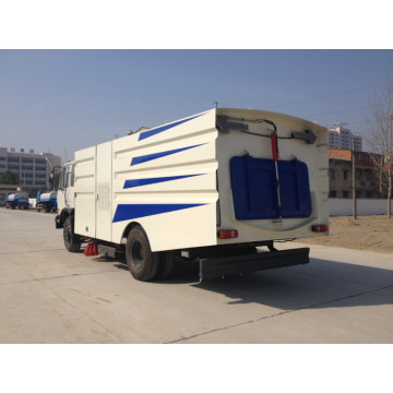 4x2 Vacuum Washing Street Sweeping Vehicle