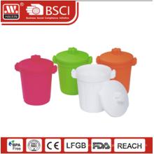 Benutzerdefinierte Papierkorb, Kunststoff Abfallbehälter, Garbage bin 1,4 l