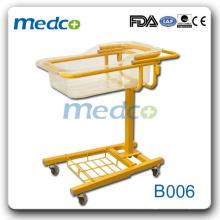 2015 hot sale hospital carrinho de bebê \ cama de bebê à venda B006