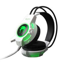 Auricular del juego del receptor de cabeza del Gamer de la PC de la iluminación del LED (K-16)