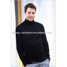 suéter de cachemira intarsia