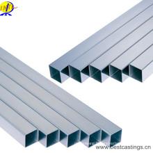 Tuyau carré en acier inoxydable sans soudure de haute qualité