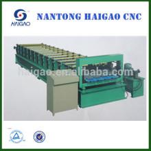 Rolo de camada dupla formando máquina / telhado de aço corrugado