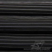 Veste imperméable à l'eau et au vent Tissé Dobby Jacquard rayé 6% Polyester 94% Tissu intertexture blend-tissage en nylon (H021)