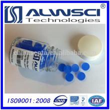 0-320 bleu 11 mm Silicone haute température à faible purge GC Septa